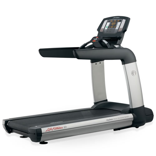 "Life Fitness Platinum Club Treadmill w/15"" Engage Console"
