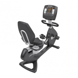 Life Fitness Platinum Club Series Recumbent Lifecycle� Exercise Bike with Achieve
