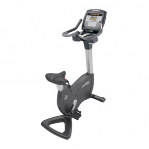 Life Fitness Platinum Club Series Upright Lifecycle Exercise Bike with Inspire 7&quot; Console