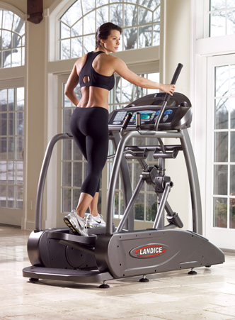 Landice E7 Pro Trainer Elliptimill  