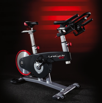 LifeCycle GX Indoor Exercise Bike Built by Life Fitness