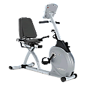 Vision Fitness R2050 Semi-Recumbent Exercise Bike with Deluxe Console 