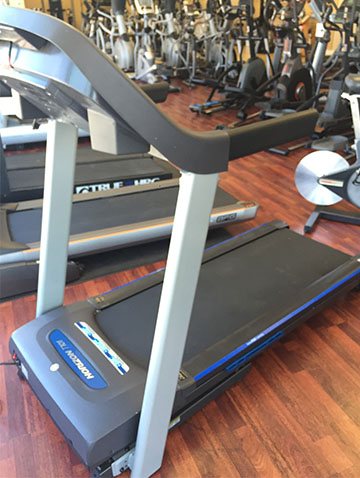PRE-OWNED HORIZON T101 FOLDING TREADMILL