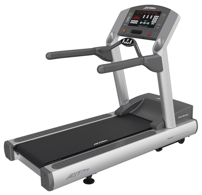 Previously Owned Life Fitness Club Series Treadmill