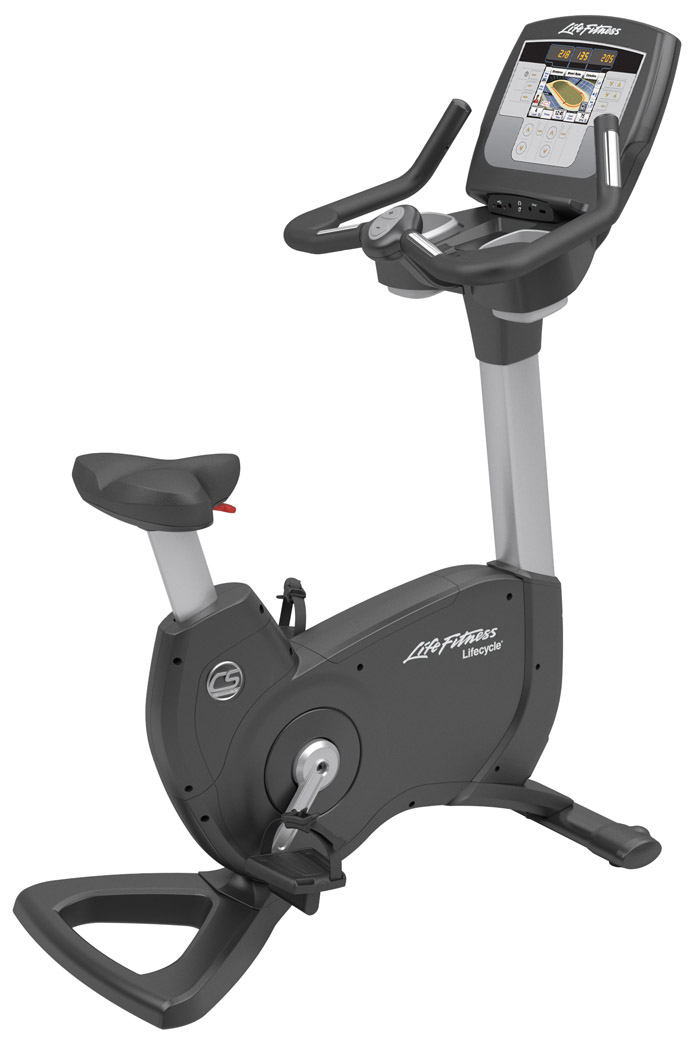 Life Fitness Platinum Club Series Upright Lifecycle