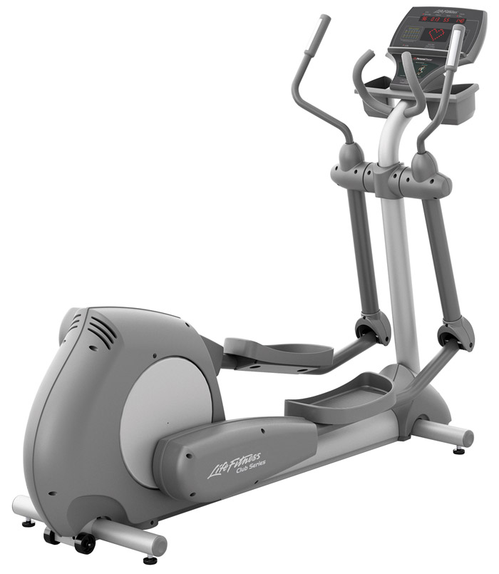 Life Fitness Club Series Elliptical Cross-Trainer PREVIOUSLY OWNED