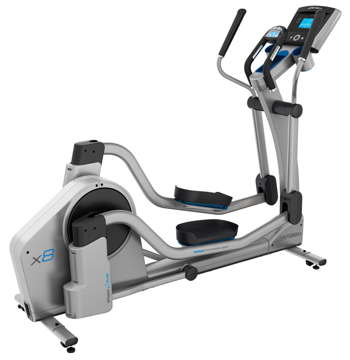 Life Fitness X8 Elliptical Cross-Trainer with Basic Console