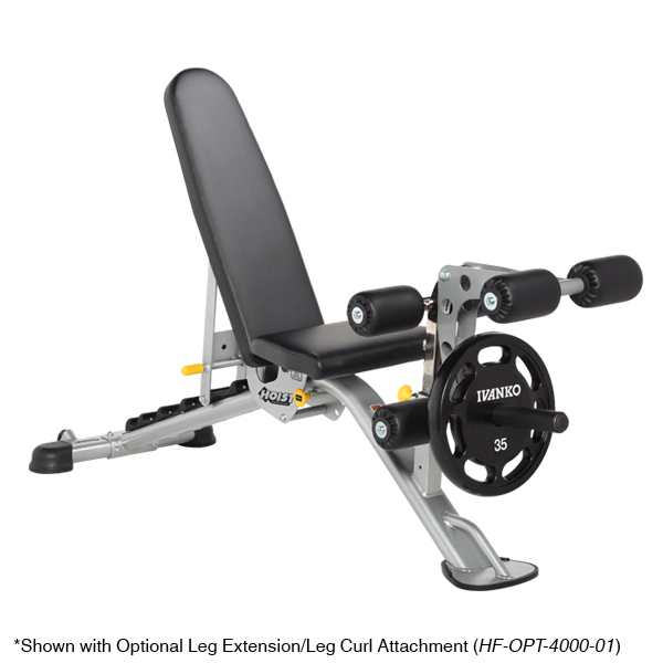 Hoist Fitness HF 5165 7 Position F.I.D. Adjustable Bench