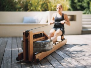 WaterRower Natural Rowing Machine W/S4 Performance Monitor