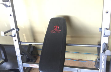 PRE-OWNED Marcy Combo-Olympic Bench Press