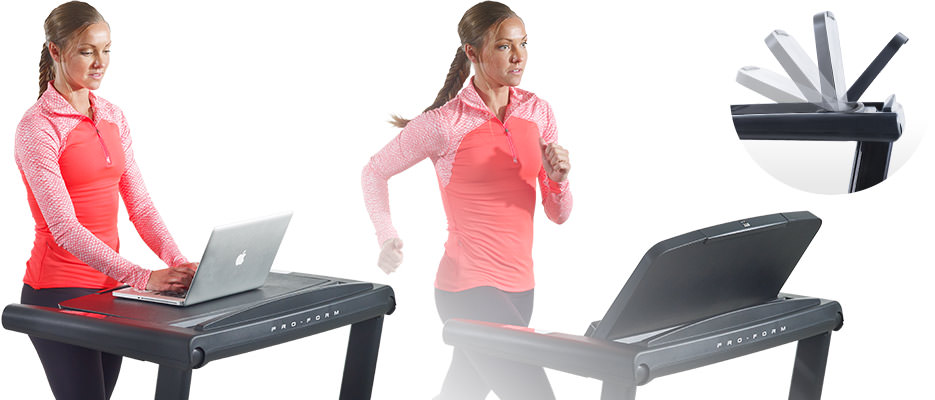 ProForm Thinline Desk Treadmill PFTL24941