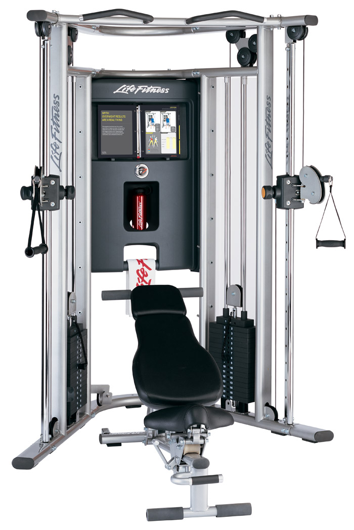 Life Fitness G7 Home Gym With Bench Treadmill Outlet