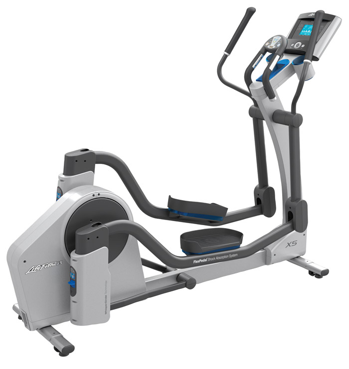 Life Fitness X5 Elliptical Cross-Trainer with Basic Console
