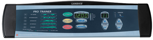Landice L7 Club Pro Trainer Treadmill