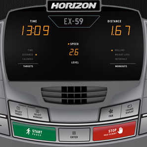 PRE-OWNED Horizon Fitness EX-59 Elliptical Trainer