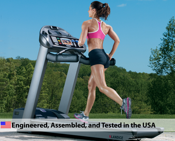 Landice L7 Pro Sports Trainer Treadmill