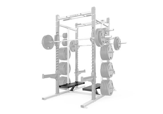Bolt On Spotters Stand - D Series Double Half Rack