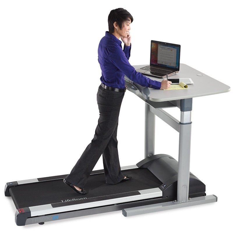 lifespan desk under treadmill