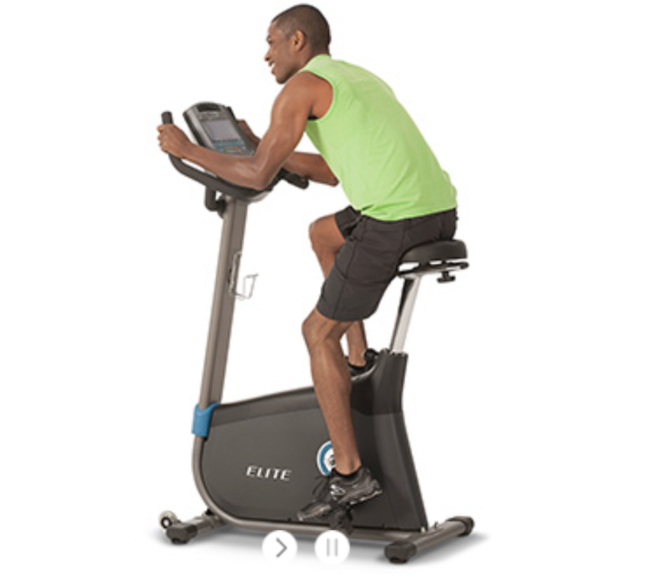 Horizon Elite U7 Upright Bike