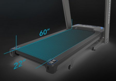 Horizon Fitness 7.4 AT FOLDING TREADMILL